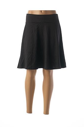 Jupe mi-longue noir CAMAIEU pour femme