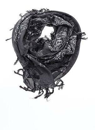 Foulard gris CAROLL pour femme