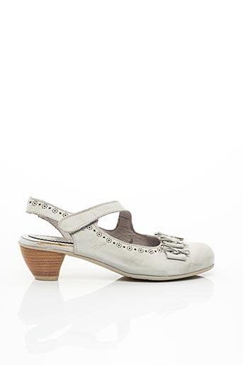 Sandales/Nu pieds gris BRAKO pour femme