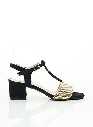 Sandales/Nu pieds noir BRENDA ZARO pour femme
