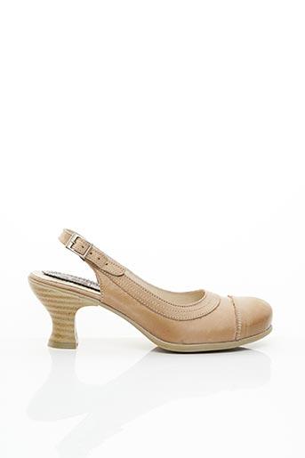 Escarpins beige BRAKO pour femme