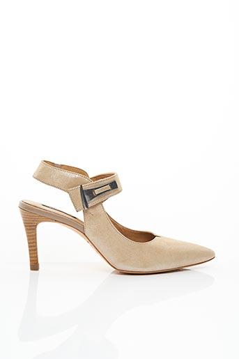 Escarpins beige FUGITIVE BY FRANCESCO ROSSI pour femme