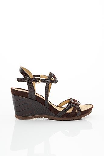 Sandales/Nu pieds marron GEOX pour femme