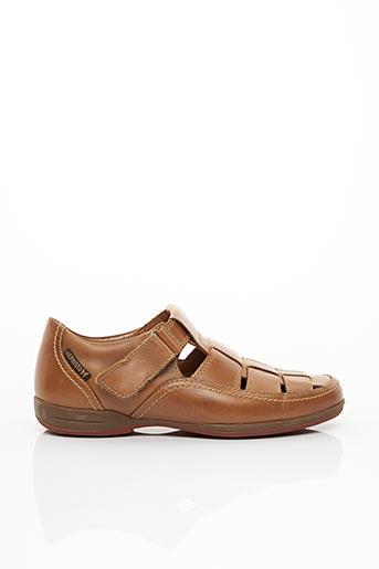 Sandales/Nu pieds marron MEPHISTO pour homme