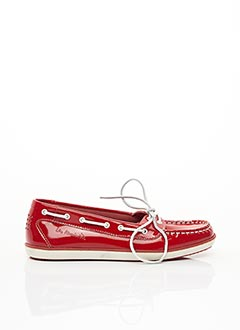 Chaussures bâteau rouge TBS pour femme