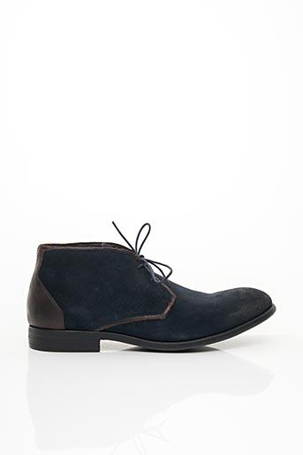 Bottines/Boots bleu HEXAGONE pour homme