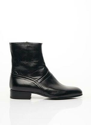 Bottines/Boots noir PACO MILAN pour homme
