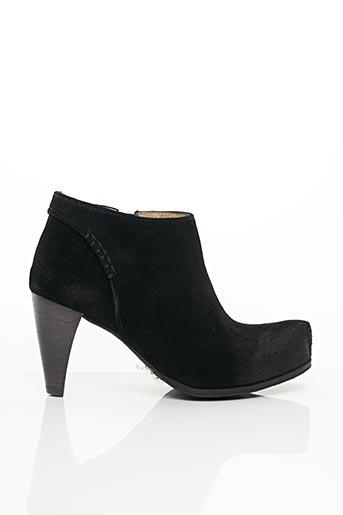 Bottines/Boots noir ALAIN BASTIANI pour femme