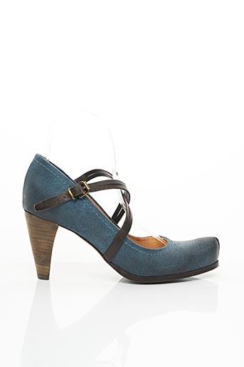 Escarpins bleu ALAIN BASTIANI pour femme