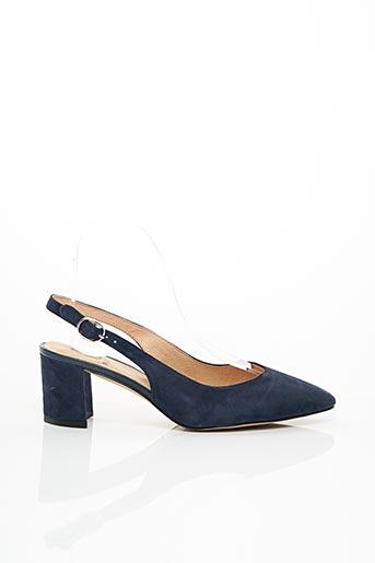 Escarpins bleu FUGITIVE BY FRANCESCO ROSSI pour femme
