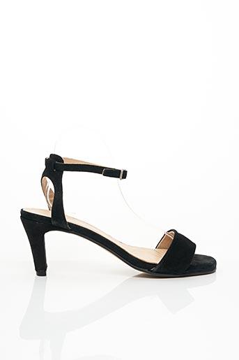 Sandales/Nu pieds noir ANOUCH.K pour femme