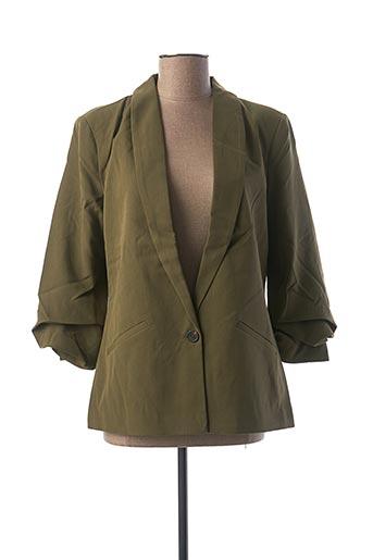 Veste chic / Blazer vert VILA pour femme