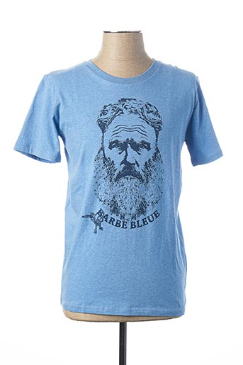 T-shirt manches courtes bleu FRENCH DISORDER pour homme