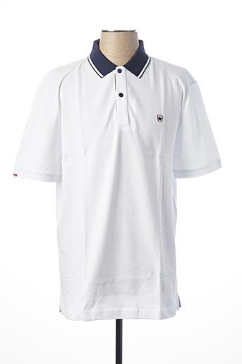 Polo manches courtes blanc ARISTOW pour homme