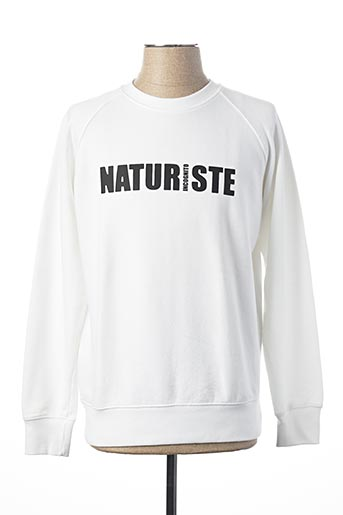 Sweat-shirt blanc FRENCH DISORDER pour homme