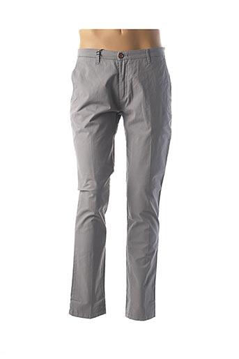 Pantalon casual gris INDIVIDUAL pour homme