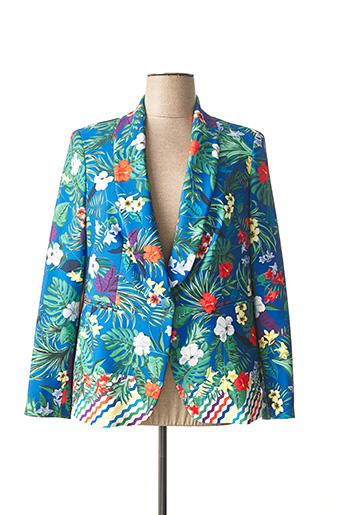 Veste casual bleu DAMA MIA pour femme