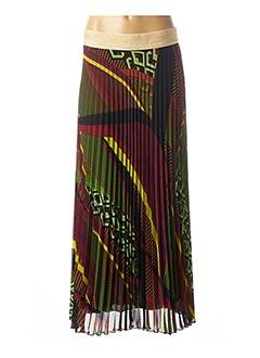 Jupe longue noir CARLA MONTANARINI pour femme