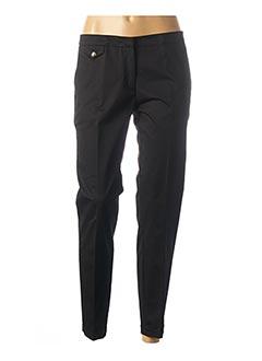 Pantalon 7/8 noir CARLA MONTANARINI pour femme