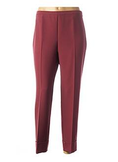 Pantalon 7/8 rose CARLA MONTANARINI pour femme