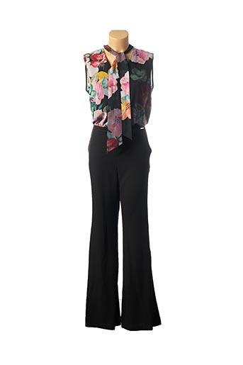Combi-pantalon noir CARLA CELSI pour femme