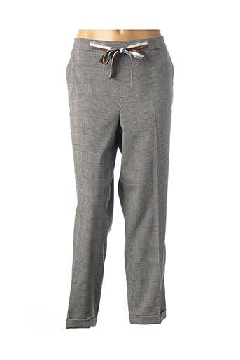 Pantalon 7/8 bleu DAMA MIA pour femme