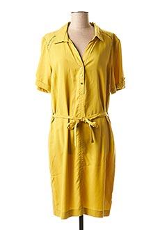 Robe courte jaune CONCEPT K pour femme