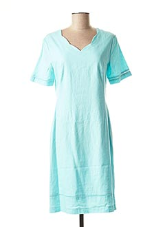 Robe mi-longue bleu CONCEPT K pour femme
