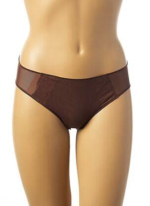 Slip/Culotte marron SIMONE PERELE pour femme