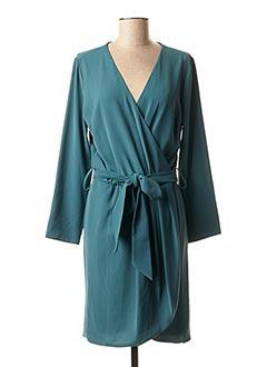Robe mi-longue vert BSB pour femme