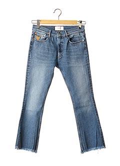 Pantalon 7/8 bleu APRIL 77 pour femme