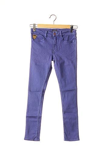 Jeans skinny violet APRIL 77 pour femme