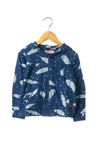 Veste casual bleu BOBOLI pour fille