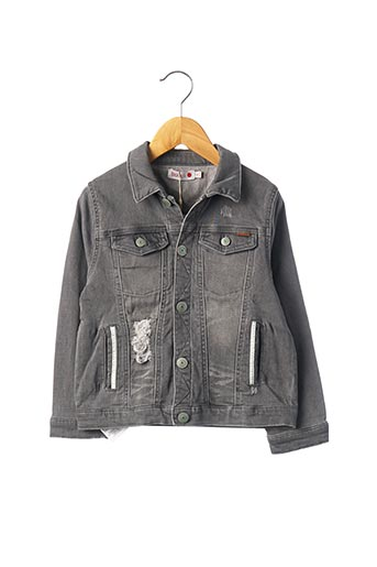 Veste casual gris BOBOLI pour garçon
