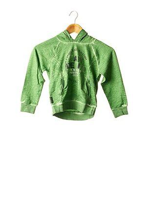 Sweat-shirt vert BOBOLI pour garçon