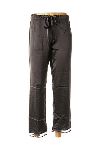 Pantalon casual noir LOU pour femme