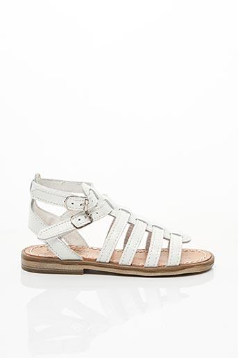 Sandales/Nu pieds blanc BELLAMY pour fille