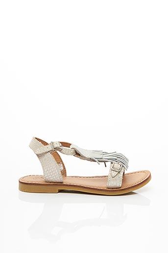 Sandales/Nu pieds gris SHWIK pour fille