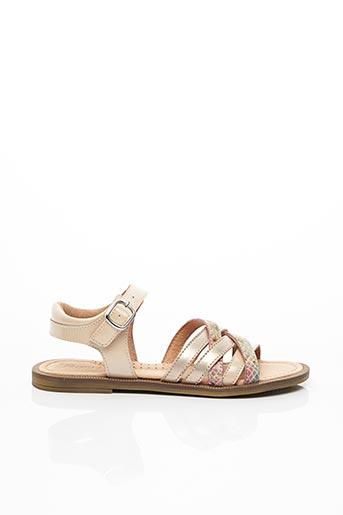 Sandales/Nu pieds beige ROMAGNOLI pour fille