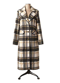 Manteau long beige S.OLIVER pour femme