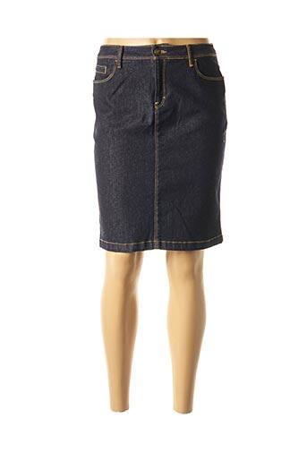 Jupe mi-longue bleu COUTURIST pour femme