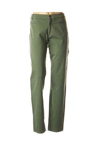 Pantalon casual vert COUTURIST pour femme
