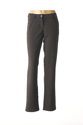 Pantalon casual noir ILOYA B pour femme
