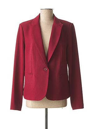 Veste chic / Blazer rouge FARUK pour femme