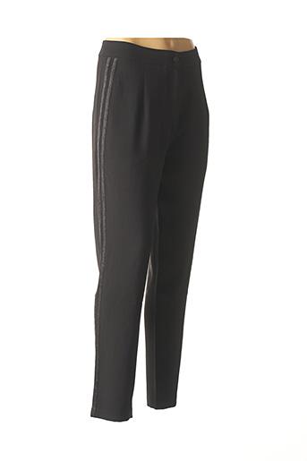 Pantalon chic noir MOLLY BRACKEN pour femme