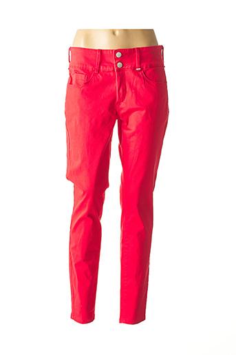 Pantalon casual rouge TIFFOSI pour femme