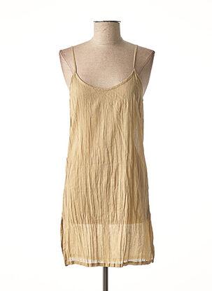 Jupon /Fond de robe beige AGATHE & LOUISE pour femme