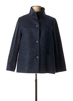 Manteau court bleu DIANE LAURY pour femme
