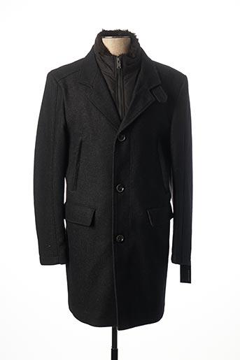 Manteau long gris JUPITER pour homme