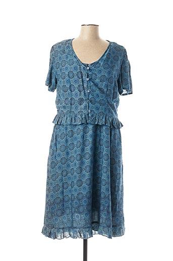 Veste/robe bleu AGATHE & LOUISE pour femme
